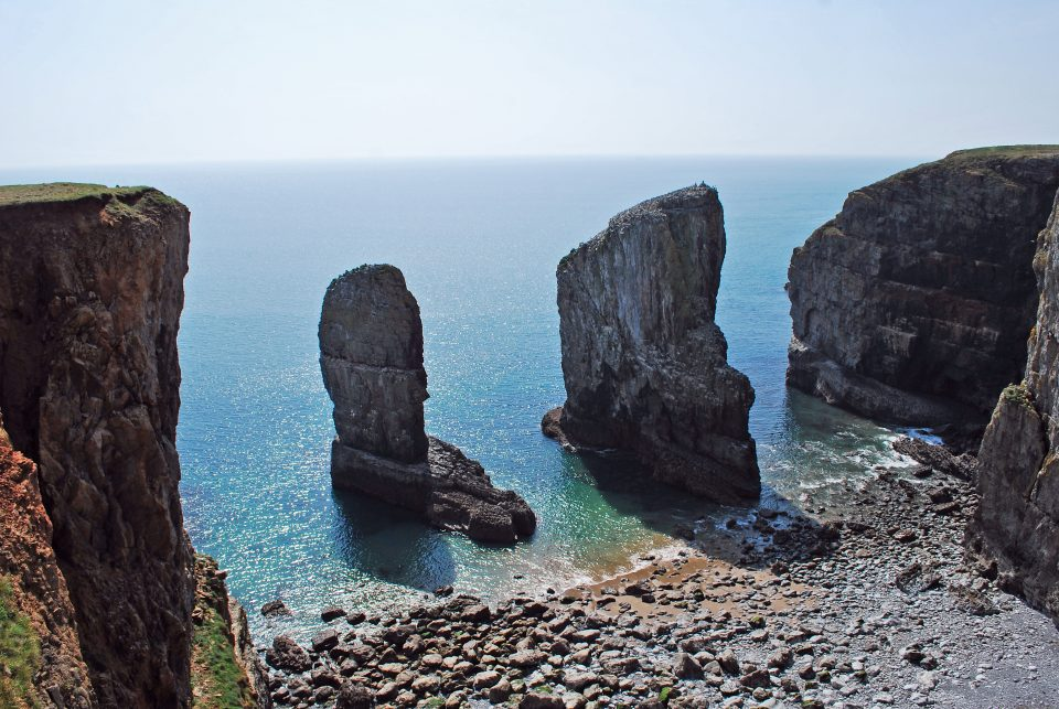 Stack Rock, Pembrokeshire