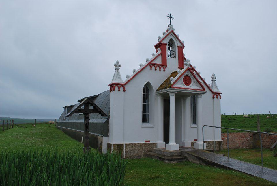 Italian Chapel Orkney Islands