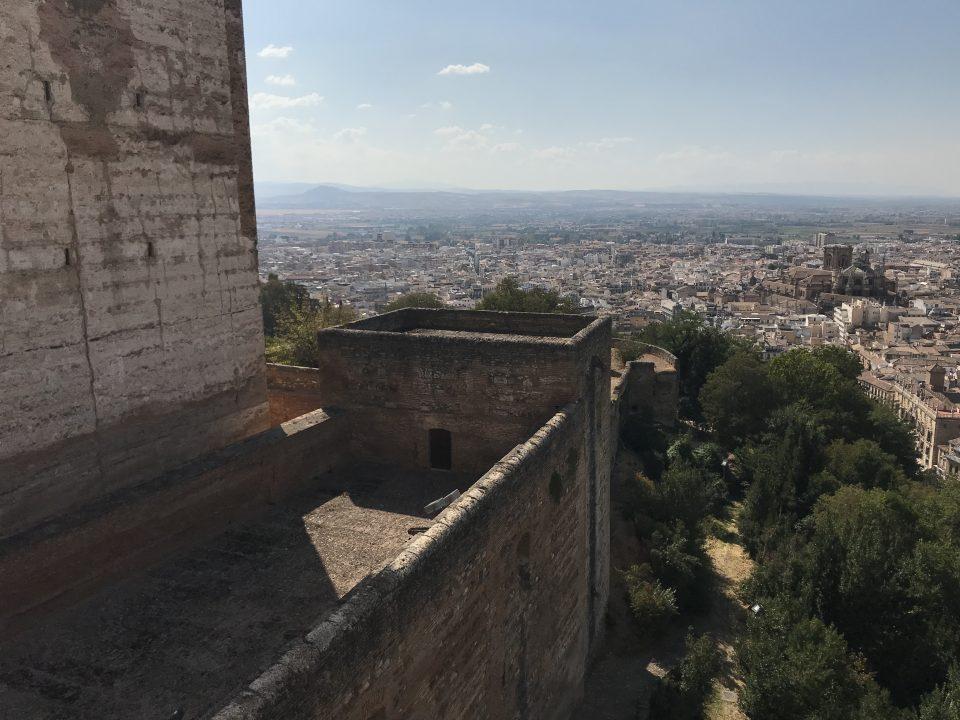 Alhambra - Alcazaba Granada