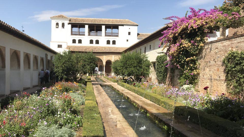 Alhambra Generalife Gardens