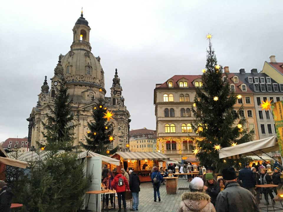 Christmas Market on the Neumarkt Dresden