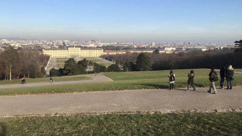 Schönbrunn Palace Garden Gloriette