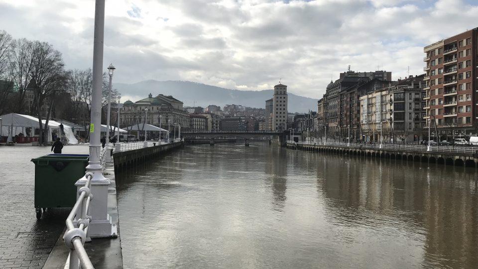 Bilbao river walk