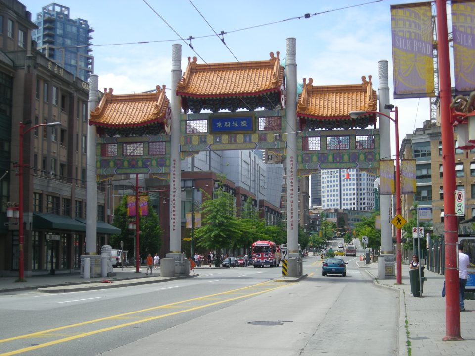 Millennium Gate Chinatown Vancouver