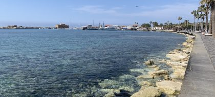 Picture of paphos Harbour, Cyprus