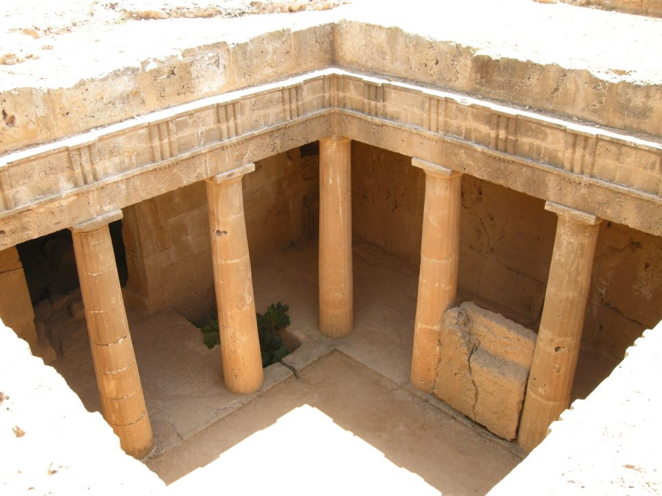 Image of tombs of the Kings, Paphos