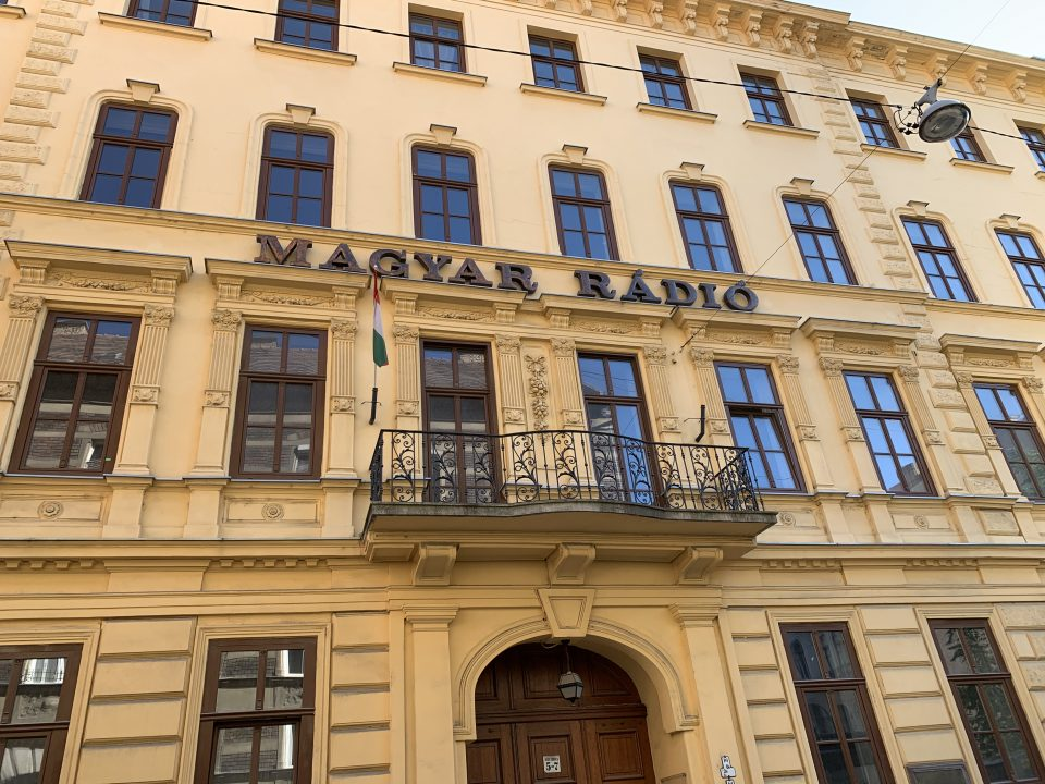 Hungarian radio headquarters