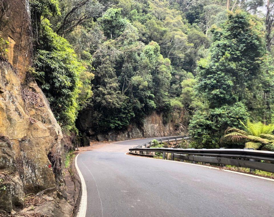 Macquarie Pass to Wollongong