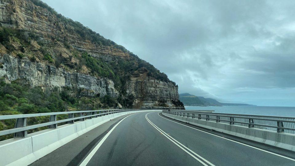 Sea Cliff Bridge Wollongong